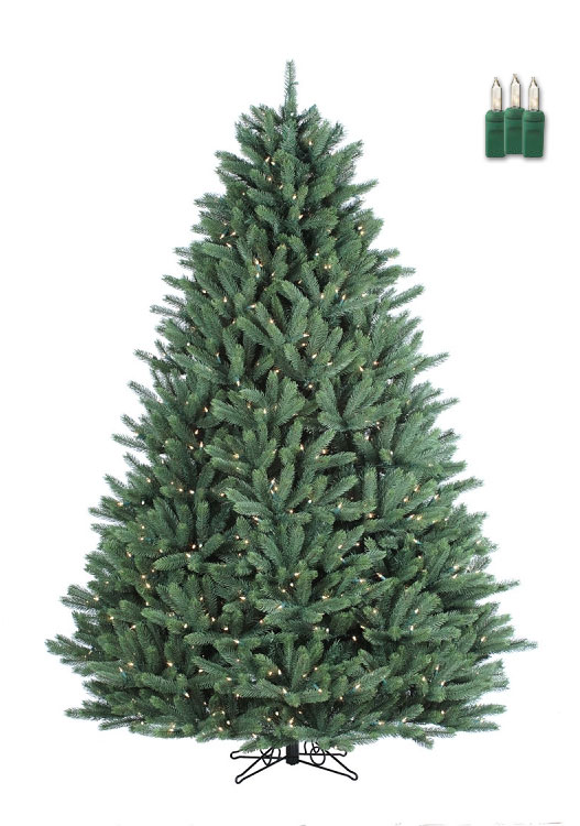 Crystal Mountain - 7.5ft Artificial Christmas Tree ...