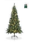 Greenbay Fir- 7ft Artificial Christmas Tree - color-changing LED lights