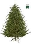 Nature's Own Fraser Fir-7.5ft Artificial Christmas Tree - Staylit® Clear lights