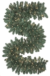 Oregon Fir Lit Garland - 9