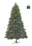 Douglas Fir Green - 4.5ft Artificial Christmas Tree - Staylit® Clear lights
