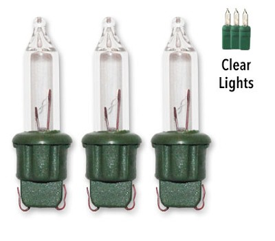 original stay lit replacement clear christmas light bulbs 100ct 25v